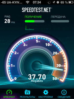 Osokorkionline скорость интернет на улице через смартфон